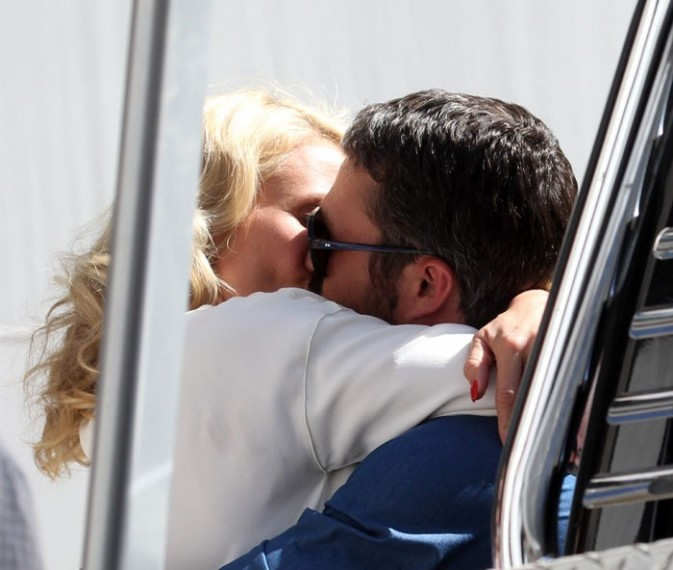 Cameron Diaz et Taylor Kinney sur le tournage de The other Woman à New-York le 4 juin 2013