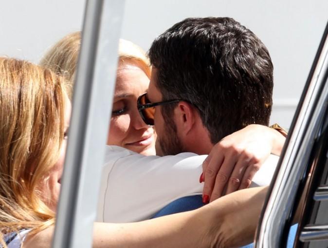 Cameron Diaz et Taylor Kinney sur le tournage de The other Woman à New-York le 4 juin 2013