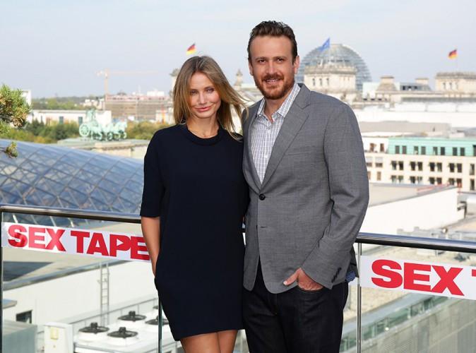 Cameron Diaz et Jason Segel à Berlin le 5 septembre 2014