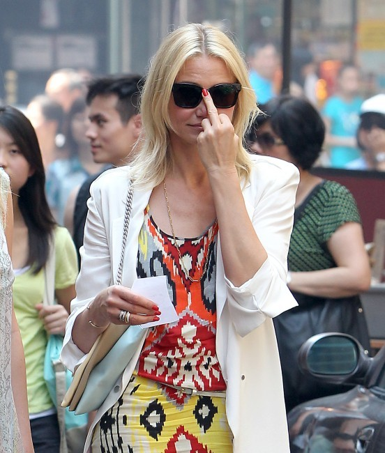 Cameron Diaz le 24 juin 2013 à New York