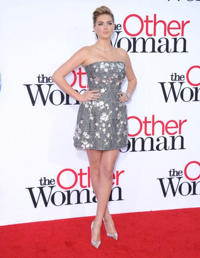 """Kate Upton lors de la première de """"The Other Woman"""" à Westwood, le 21 avril 2014."""