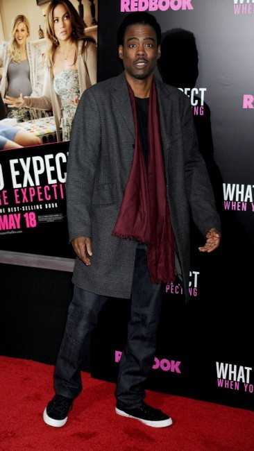 Chris Rock lors de la première du film What To Expect When You're Expecting à New york, le 8 mai 2012.
