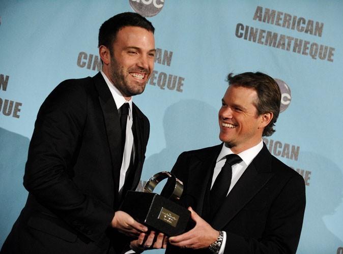 Photos : Ben Affleck et Matt Damon sont amis
