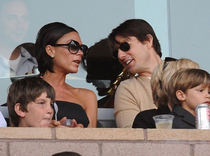 Photos : les Beckham sont amis avec Tom Cruise