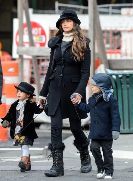 La femme de Matthew McConaughey se balade en famille