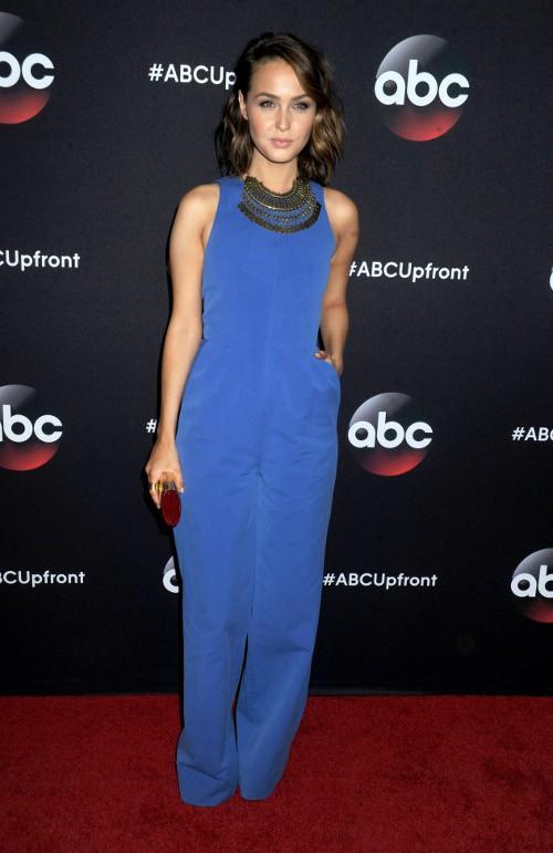 Camilla Luddington à la soirée ABC organisée le 12 mai 2015 à New-York
