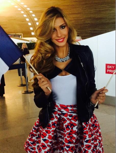 Camille Cerf : en route pour Miami et Miss Univers 2014 !