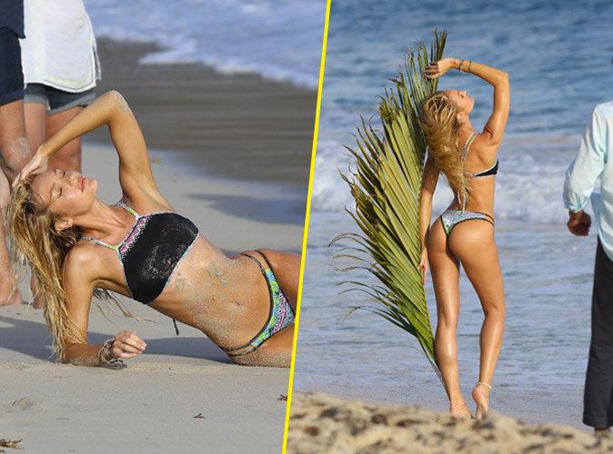 Photos : Candice Swanapoel, bronzée, fesses bombées : elle met tout le monde d'accord !