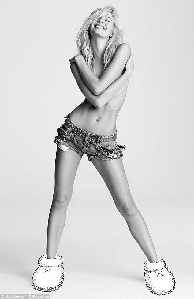 Candice Swanepoel sexy à souhait dans le nouveau numéro d'i-D Magazine !