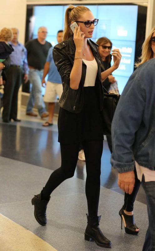 Candice Swanepoel le 2 mai 2013 à Los Angeles