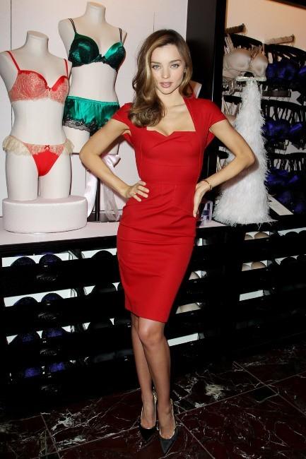 Miranda Kerr en promo à New York, le 19 novembre 2012.