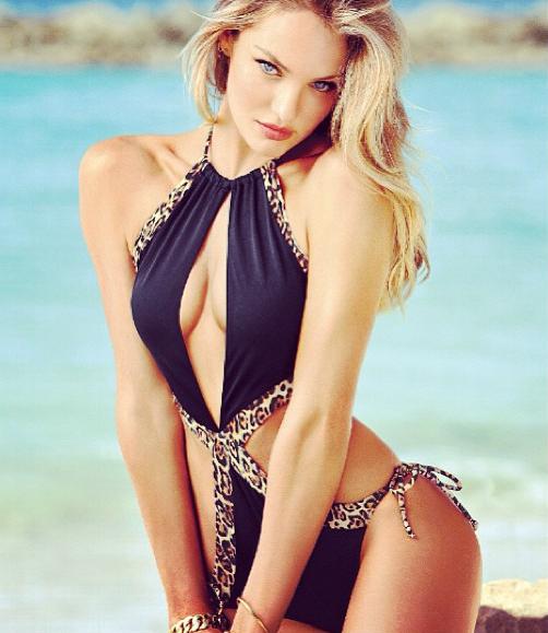Photos : Candice Swanepoel : une naïade zéro défaut toujours aussi sexy !