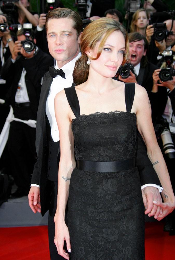 Photos : Cannes 2007 : Angelina ne le lâchera plus !