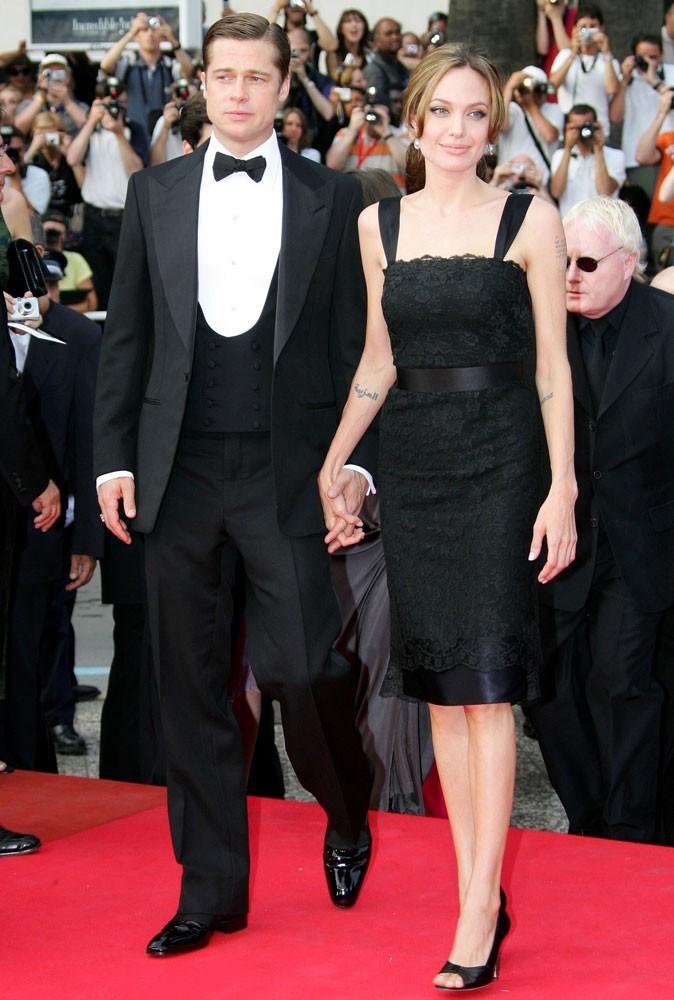 Photos : Cannes 2007 : le jeune couple monte les marches côte à côte pour la première fois