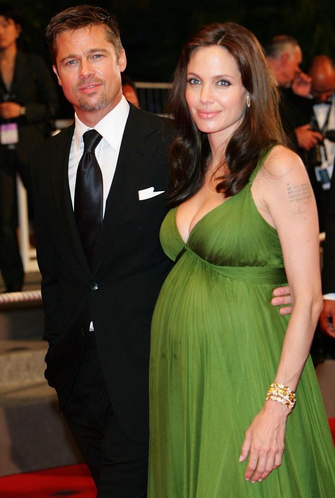 Photos : Cannes 2008 : Angelina Jolie est enceinte des jumeaux