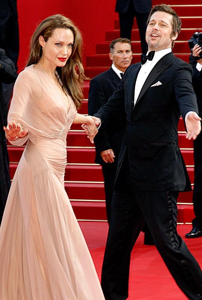 Photos : Cannes 2009 : les Brangelina font le show !