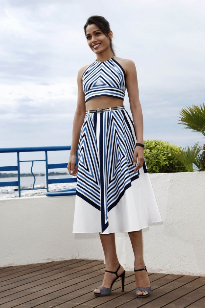 Freida Pinto le 18 mai 2012 à Cannes