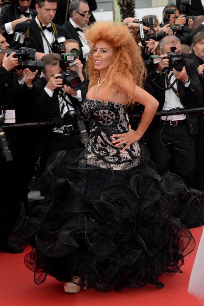Photos : Cannes 2015 : Afida Turner : une tigresse sur la montée des marches !