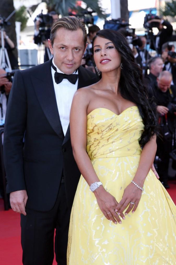 Photos : Cannes 2015 : Ayem Nour : beauté rayonnante et amoureuse au bras de son homme Vincent !
