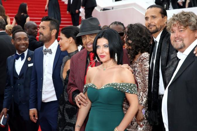 Photos : Cannes 2015 : le père de Michael Jackson vient faire le show sur le redcarpet !