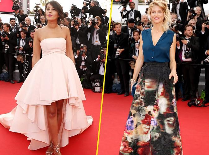 Cannes 2015 : Leïla Bekhti et Alice Taglioni ou l'élégance à la française !