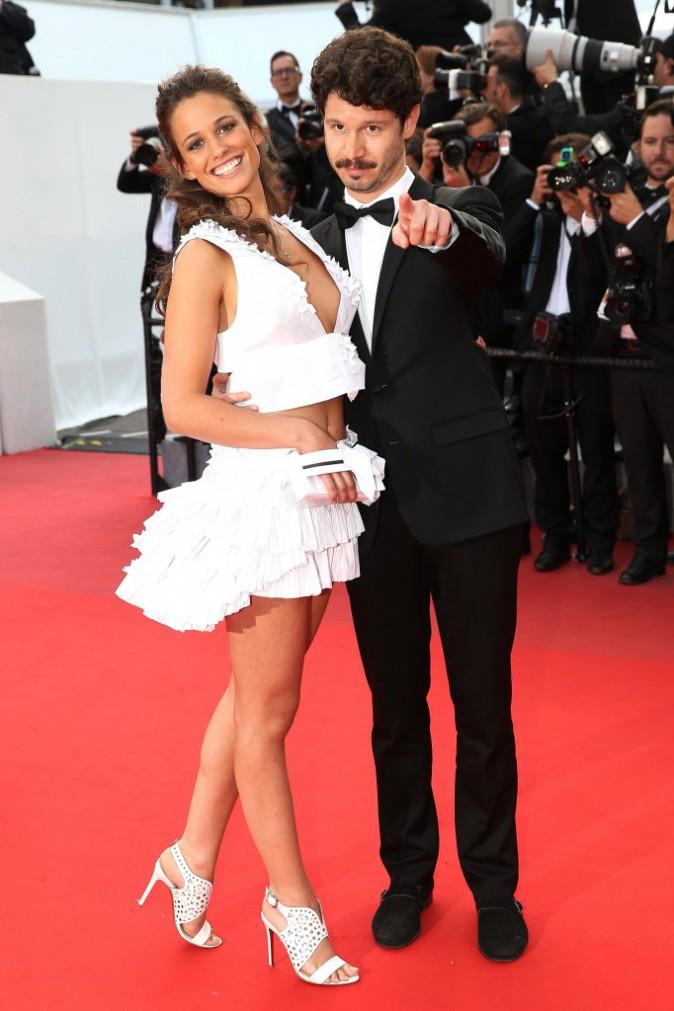 Photos : Cannes 2015 : Lucie Lucas : l'héroïne de Clem sexy et bien accompagnée sur le redcarpet !