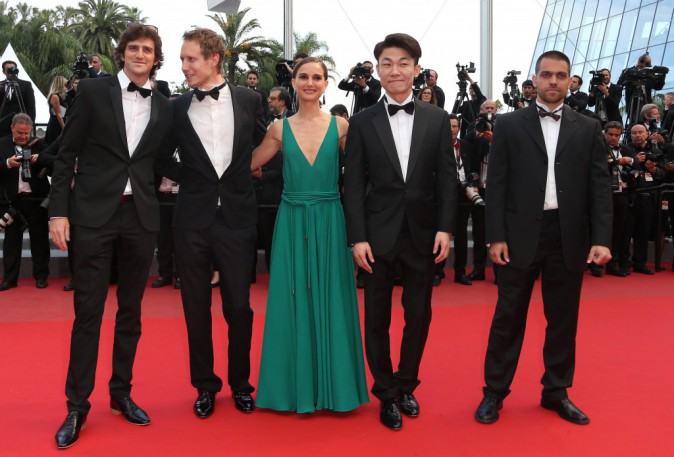 """Photos : Cannes 2015 : Natalie Portman : toujours aussi radieuse sur le redcarpet pour le film """"Sicario"""" !"""