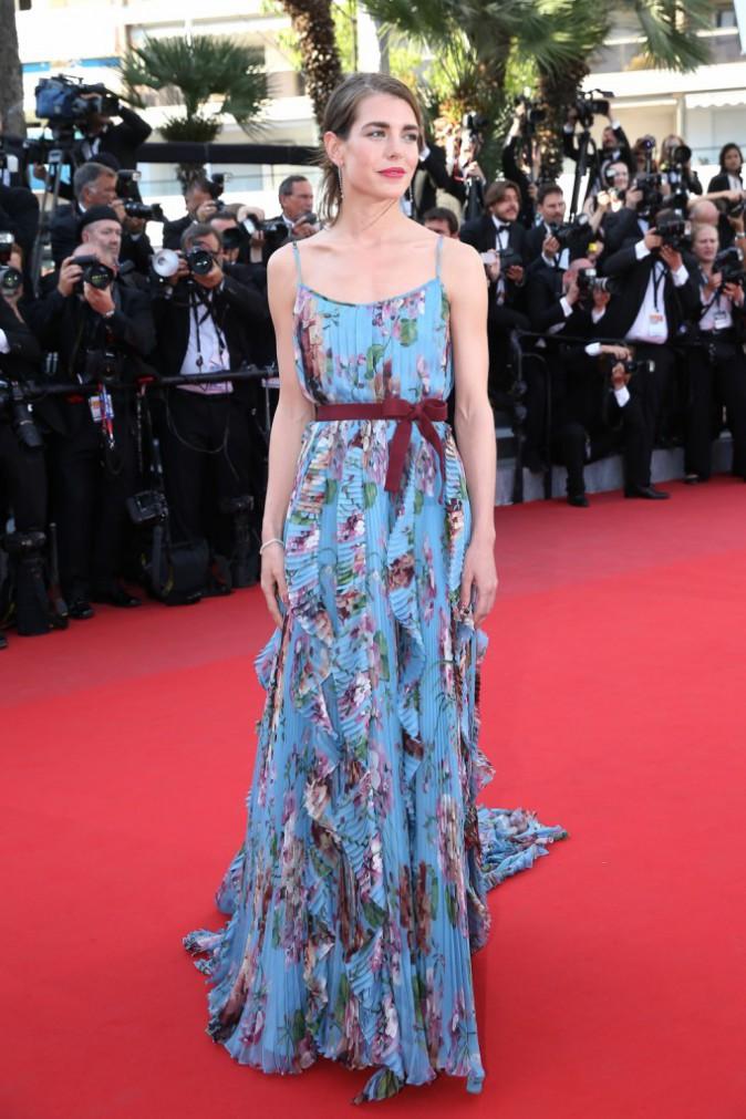 Photos : Cannes 2015 : Salma Hayek et Charlotte Casiraghi : élégance et féminité sur le redcarpet !