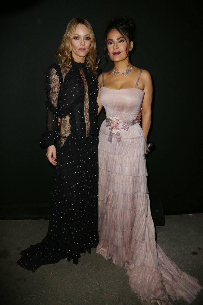 Photos : Cannes 2016 : Vanessa Paradis et Salma Hayek complices et sexy !