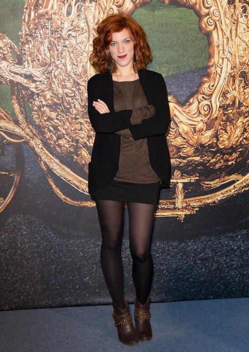 Anaïs Delva à l'avant-première de Cendrillon à Paris, le 22 mars 2015