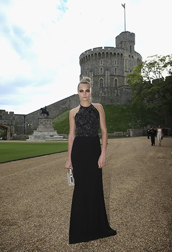 Cara Delevingne à Windsor le 13 mai 2014