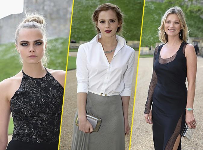 Cara Delevingne, Emma Watson et Kate Moss : toutes convi�es par le Prince William !