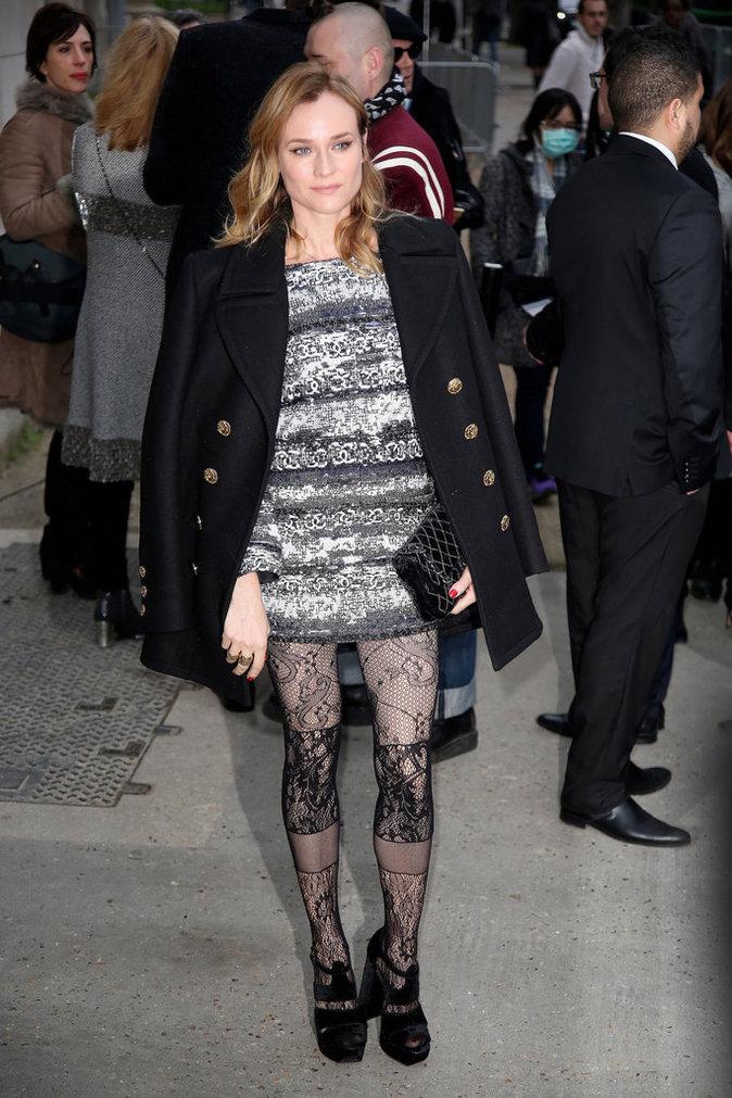 Diane Kruger au défilé Chanel Haute Couture