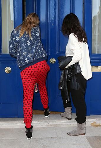 Michelle Rodriguez et Cara Delevingne à Londres le 6 mars 2014