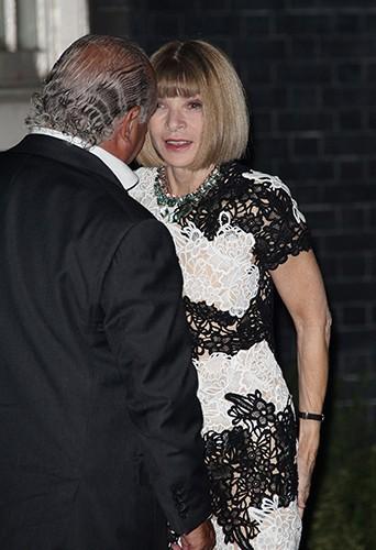 Anna Wintour à Londres le 15 septembre 2014