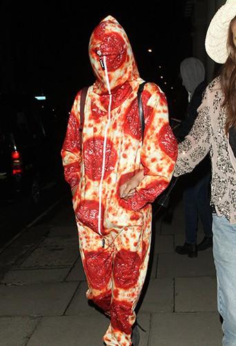 Cara Delevingne à Londres le 14 août 2014
