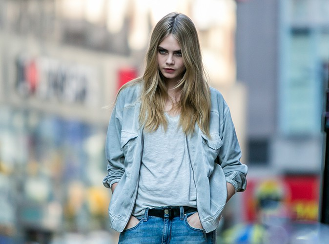 Cara Delevingne à New-York le 15 octobre 2013