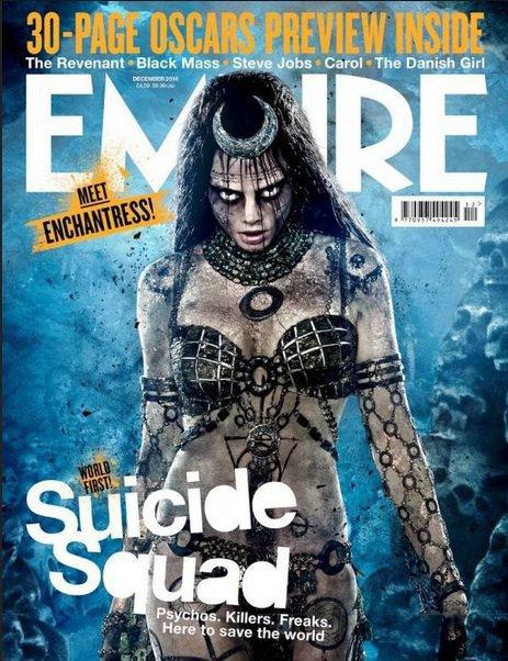 Photos : Cara Delevingne trop flippante pour Suicide Squad !