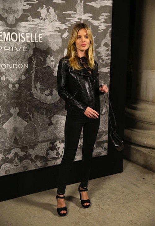 Georgia May Jagger à l'exposition Mademoiselle Privé à Londres, le 12 octobre 2015 !