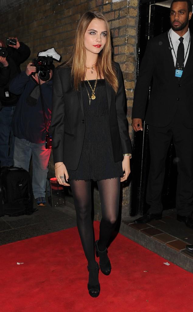 Cara Delevingne le 20 janvier 2015