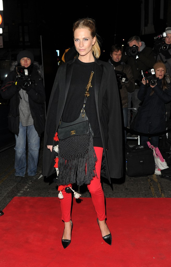 Poppy Delevingne le 20 janvier 2015