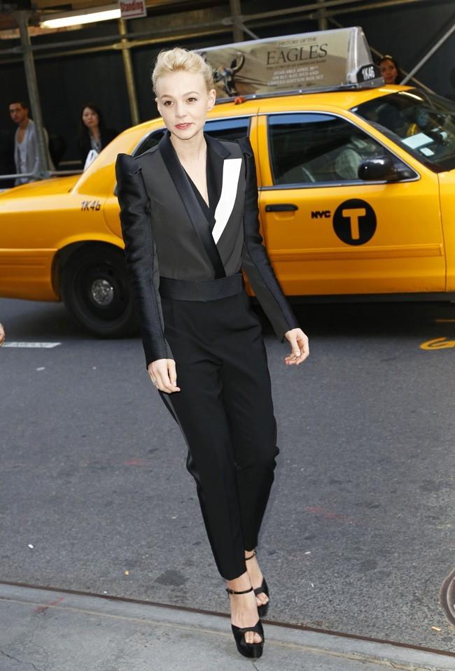 Carey Mulligan le 5 mai 2013 à New York