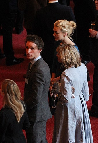 Carey Mulligan et Eddie Redmayne à Windsor, le 4 avril 2013