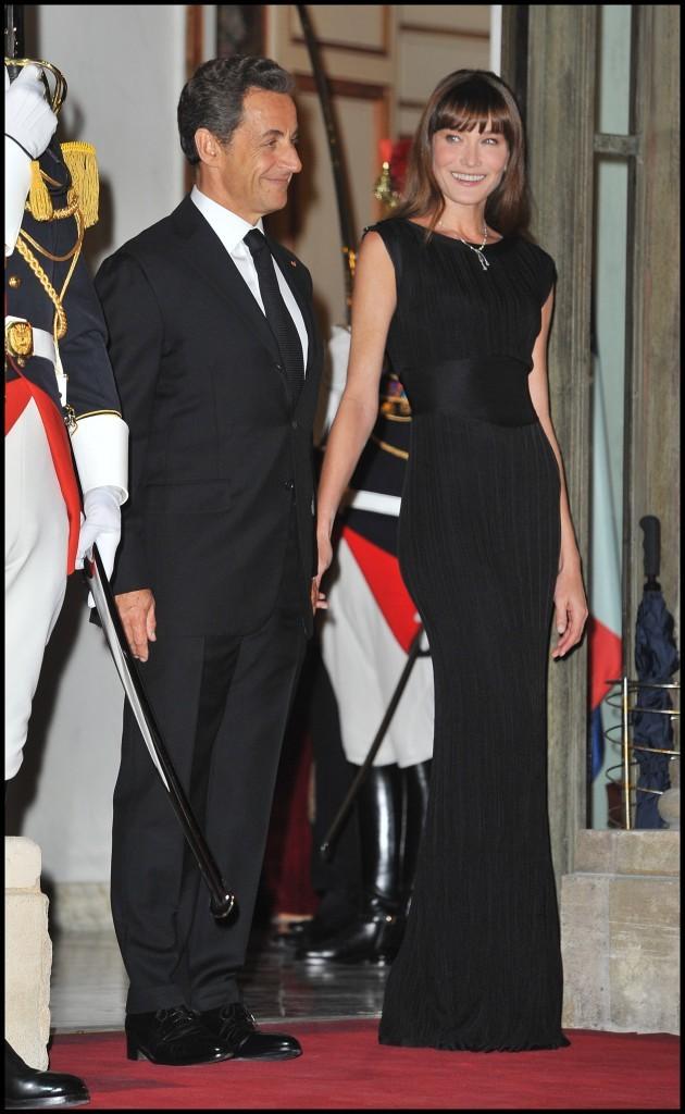 Carla Bruni et son époux le président de la République Nicolas Sarkozy !