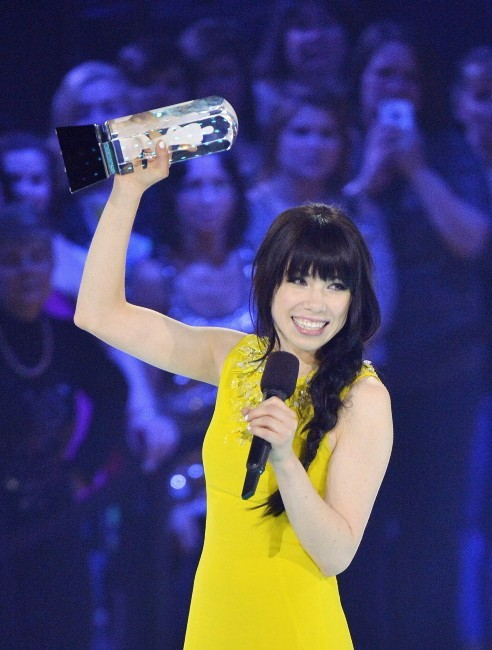 Carly Rae Jepsen triomphe aux JUNO Awards 2013