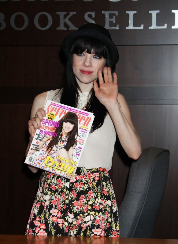 Carly Rae Jepsen, Los Angeles, 8 février 2013.