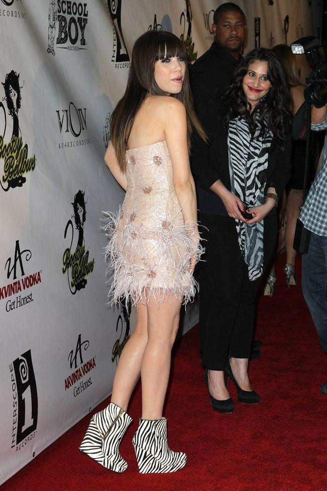 Carly Rae Jepsen le 20 septembre 2012 à Los Angeles