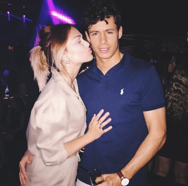 Caroline Receveur et Valentin Lucas à Dubaï