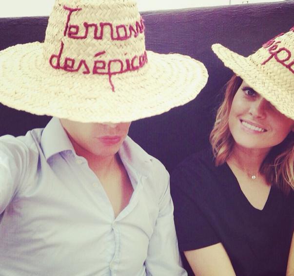 Photos : Caroline Receveur et Valentin Lucas : les tourtereaux profitent pleinement de Marrakech !