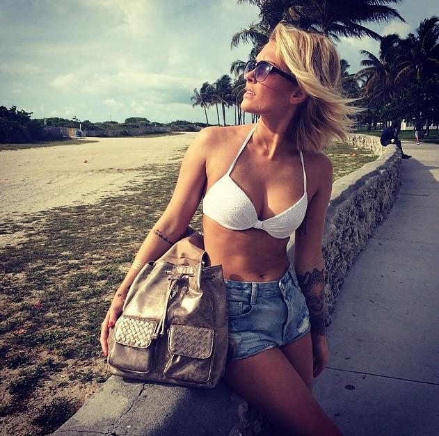 Caroline Receveur à Los Angeles
